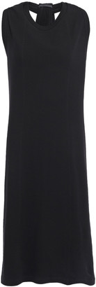 Helmut Lang Twist-back Cotton-jersey Dress