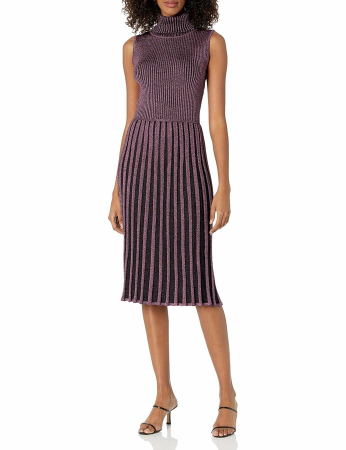 Thumbnail for your product : Milly Women's Pleated Midi Dress
