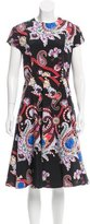 Mary Katrantzou Digital Print Flared Dress