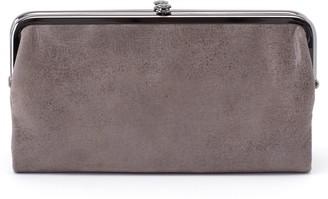 Hobo 'Lauren' Leather Double Frame Clutch