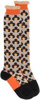Marni panelled pattern socks - women - Cotton - One Size