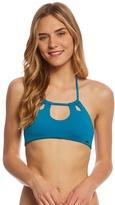 Roxy Strappy Love Halter Crop Bikini Top 8160134