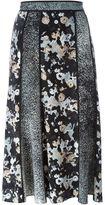 Kenzo 'Moonmap' skirt - women - Silk - 38