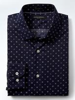 Banana Republic Camden-Fit Non-Iron Micro-Print Shirt