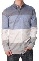 French Connection Men's Girodet Oxford Stripe Woven Shirt