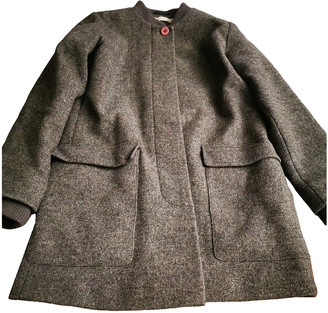 Stella McCartney Kids Grey Wool Jackets & Coats