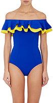 Lisa Marie Fernandez Women's Mira One-Piece Swimsuit-BLUE