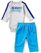 Under Armour Baby Boys Newborn-12 Months Always Fearless Jersey Bodysuit & Pants Set