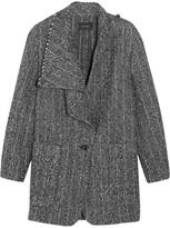 Isabel Marant Hondo Bouclé-alpaca Coat - Gray