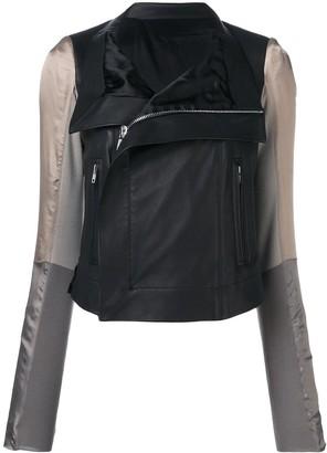 Rick Owens Combined Biker Jacket