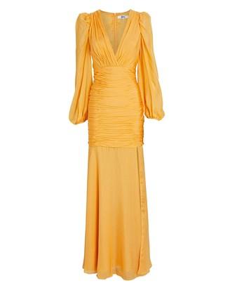 Aiifos Marianne Silk Chiffon Gown