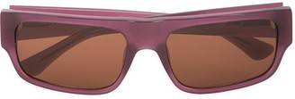 Linda Farrow Tinted Sunglasses