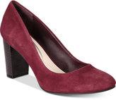 Alfani Morgaan Step 'N Flex Block-Heel Pumps, Created for Macy's