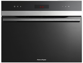 Fisher & Paykel OS60NDTX1 Compact Steam Oven, Stainless Steel/Glass