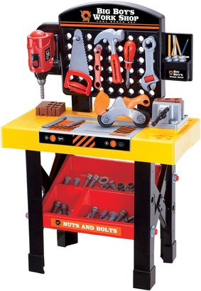 Big Boy's Work Shop 54-pc. Tool Bench Set by World Tech Toys