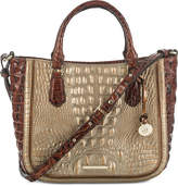 Brahmin Lena Rose Gold Provence Medium Satchel