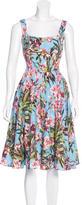 Dolce & Gabbana Floral Embellished Dress
