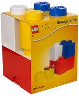 Asstd National Brand 4 Piece Multi Pack Storage Brick Lego Toy Box