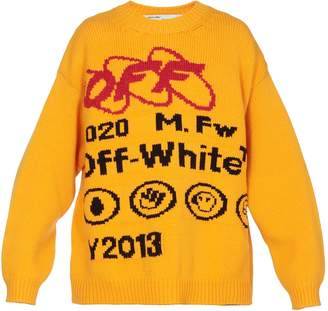 Off-White Off White Wool Blend Sweater