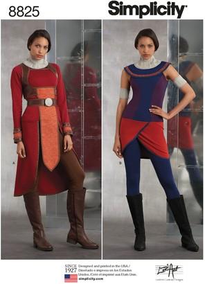 Simplicity Women's Guard Costume Sewing Pattern, 8825