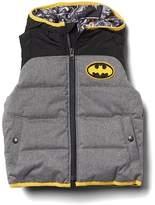 Gap babyGap | DC Batman puffer hoodie vest