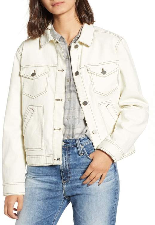 BP Utility Denim Trucker Jacket (Regular & Plus Size)