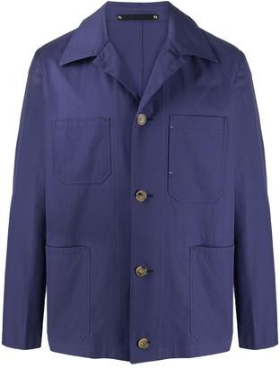 Paul Smith Boxy Fit Shirt Jacket
