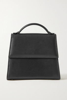 Hunting Season The Small Top Handle Leather Tote - Black