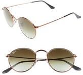 Ray-Ban Women's Icons 50Mm Retro Sunglasses - Blue/ Brown