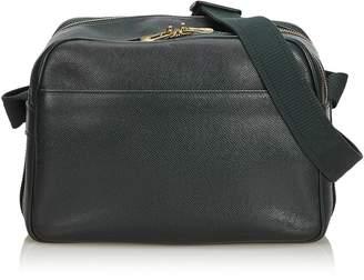 Louis Vuitton Green Taiga Reporter Pm
