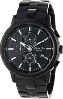 Kenneth Cole New York Men's KC9226 Dress Sport Gun Dial Link Bracelet Chronograph Watch