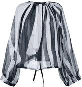 Ann Demeulemeester striped blouse