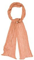 M Missoni Open Knit Striped Scarf w/ Tags