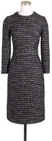J.Crew Collection black tweed dress