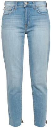 L'Agence Cropped High-rise Slim-leg Jeans