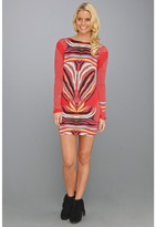 Mara Hoffman Scoop Back Mini Dress (Phoenix Red) - Apparel