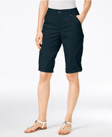 Style&Co. Style & Co. Petite Cuffed Skimmer Shorts, Only at Macy's