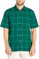 Van Heusen Short-Sleeve Pucker Woven Shirt