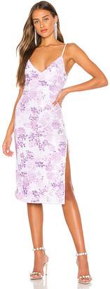 h:ours Peyton Midi Dress