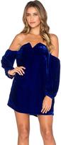 Line & Dot Paradis Velvet Tube Dress