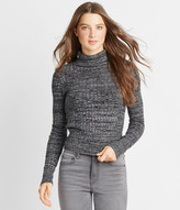 Marled Bodycon Turtleneck Sweater