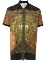 Givenchy Zipped Polo Shirt - Black - Size XL