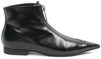 Stella McCartney Zipit Point-Toe Ankle Boots
