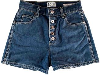 Eve Denim Blue Denim - Jeans Shorts for Women