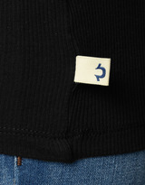 True Religion Womens 3/4 Sleeve Vneck Tee