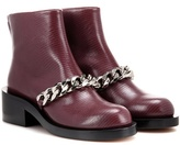 Givenchy Embellished Embossed Leather Boots