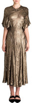 Bianca Spender Armour Silk Ggt Cleopatra Dress