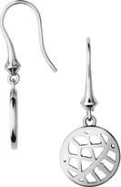 Links of London Timeless sterling silver drop earrings