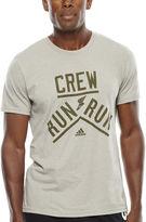adidas Crew Run Run Graphic Tee