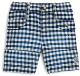 3 Pommes Infant Boys' Gingham Shorts - Sizes 3-24 Months
